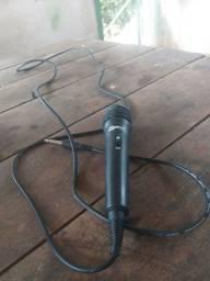 Microfone ( grave não desligar no botão , rachado como na última foto )