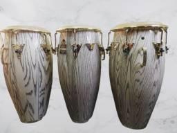 Título do anúncio: Trio de Congas Galaxy Latin Percussion LP