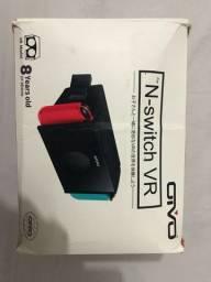 Óculos Realidade Virtual p/ Nintendo Switch.