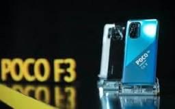 Título do anúncio: Poco F3 5G Azul/Preto 6+128Gb