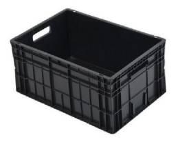 Caixa fechada 60x40x23 fechada preta
