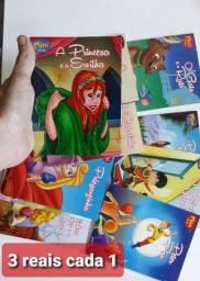 Livros infantil novos 3 reais