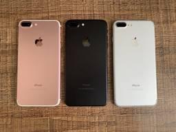 Apple Iphone 7 Plus 32gb Rose ou Dourado// Impecável // Loja na Savassi