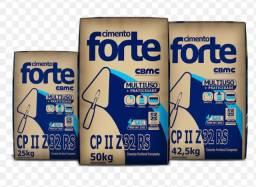 CIMENTO FORTE NO CARTÃO DE CRÉDITO!