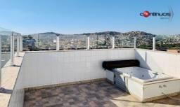 Título do anúncio: Cobertura para venda possui 129 metros quadrados com 3 quartos em Candelária - Belo Horizo