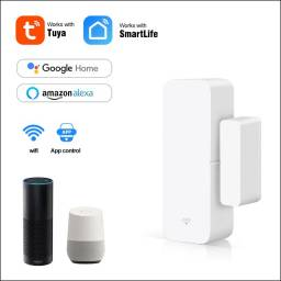 Título do anúncio: Sensor Inteligente Wifi Porta Janela Alexa Google Home Ds06