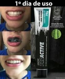 Título do anúncio: Clareador Dental Carvão Ativado Pasta De Dente Gel Dental<br><br>