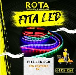 Título do anúncio: Fita Led RGB 5050- Fita Led- Lâmpadas Led- Refletores Led