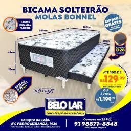 Bi-Cama Solteirão Bibox, Compre no zap *