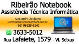 Manutenção em Notebook, Upgrade SSD, Memoria, reparos em geral