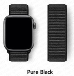 Título do anúncio: Pulseira Nylon com velcro pra Apple Watch 42/44mm