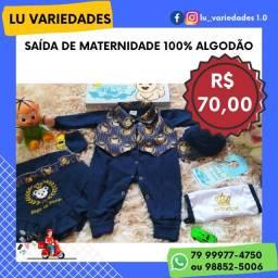 Saídas Maternidade 70 reais