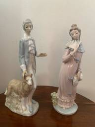 Conjunto escultórico porcelana