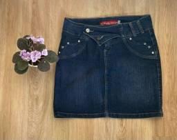 Título do anúncio: Saia jeans  saia rodada