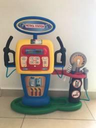 Mini posto de Gasolina de Brinquedo