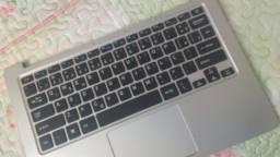 Título do anúncio: Notebook Qbex pra troca (parte do teclado)