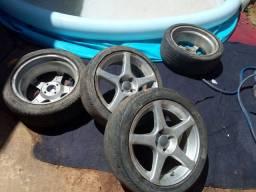 Vendo ou troco rodas