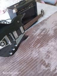 "Guitarra Paul Staley Signature""KISS""+ Fender"