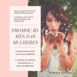 Promoções mês das mulheres