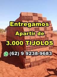 Título do anúncio: Entrego apartir de 3 mil tijolos, Lê o Anuncio!