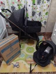 Kit travel sistem Olympus Black Bronze Galzerano + BB conforto e base Galzerano