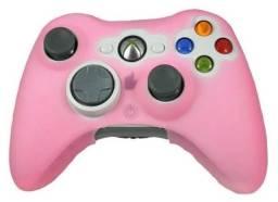 Capa Case Silicone Para Proteção do Controle Ps3 Xbox 360 Varias Cores