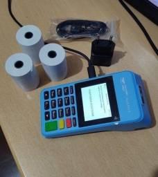 Máquinas de cartão Mercado Pago Point Pró 2 -  Faz impressão