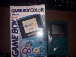 Gameboy color com a caixa original