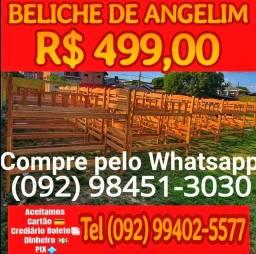 Título do anúncio: Beliche Madeira Maciça Angelim parcelamos em até 10x