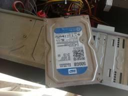 Título do anúncio: Disco rígido interno WD - SATA / 16MB Cache - 500 GB