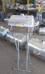 Churrasqueiras em alumínio