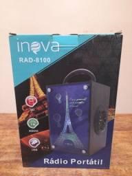 Caixa de Som Inova 8100, Rádio Portátil