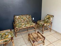 Jogo de cadeiras de varanda