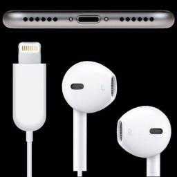 Título do anúncio: Fone De Ouvido Iphone Lightning Ear7+ Plus Original