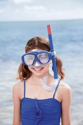 Kit snorkel com máscara infantil Fundive Bestway