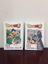 Título do anúncio: Mangá dragon ball Super Vol 1 e 2