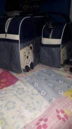 Bolsas de criança usada pouca vezes