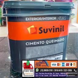 §Chegou Cimento Queimado em nossas Lojas. Para usar dentro e fora de casa!