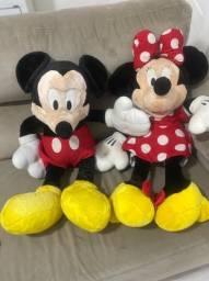 Kit Pelucia Mickey  e Minnie original Disney