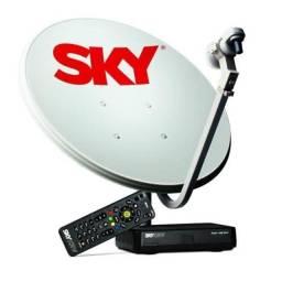 Título do anúncio: Antena e receptor SKY e Oi