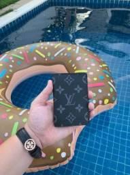 Carteira Louis Vuitton Black Monogram em couro legítimo!