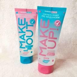 Sabonete facial pré e pós maquiagem dermachem