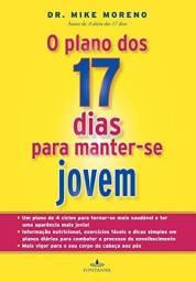 Livro O plano dos 17 dias para manter-se jovem - Novo