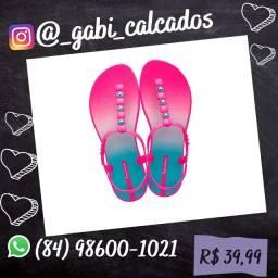 Sandália Ipanema classic color rosa dye die n° três 34 35 36 37 38 39 40
