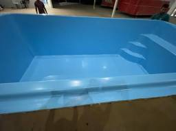 Título do anúncio: #piscina de fibra pronta entrega obs kit filtrante Danco o número 1 do mercado