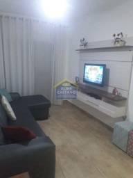 Apartamento à venda com 1 dormitórios em Guilhermina, Praia grande cod:ACT1256