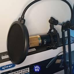 Kit microfone condensador- entregamos