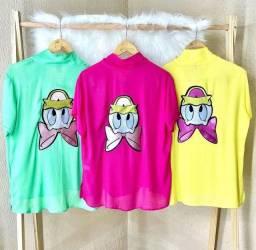 Chamise / Camisas Disney Tam M ( 39,00)