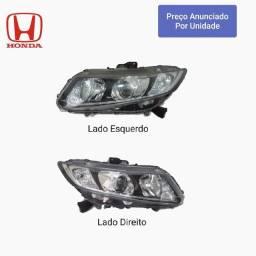 Farol Honda Civic 2007 2011 2012 2014 2015 2016 G10 LD LE