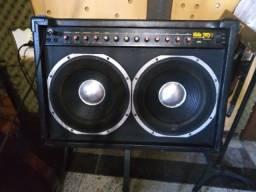 Título do anúncio: Caixa/amplificador , raridade e barato!!!